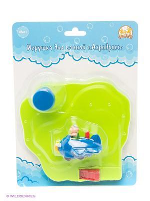 Игрушка для ванной Аэродром Жирафики. Цвет: желтый