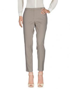 Повседневные брюки SEVENTY by SERGIO TEGON. Цвет: серый
