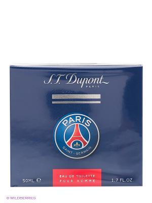 Туалетная вода Paris Saint-Germain, 50 мл DUPONT. Цвет: синий
