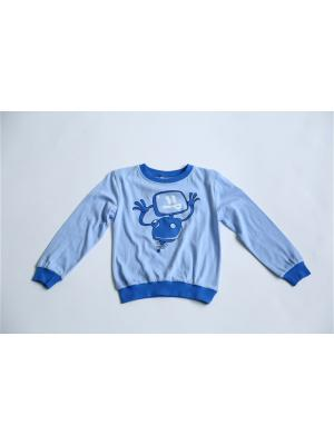 Пижама Iota. Цвет: голубой, синий