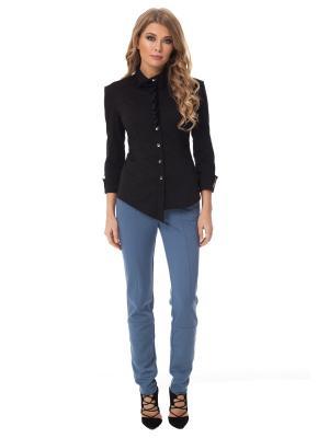 Рубашка Gloss. Цвет: черный