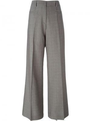 Широкие брюки Erika Cavallini. Цвет: коричневый