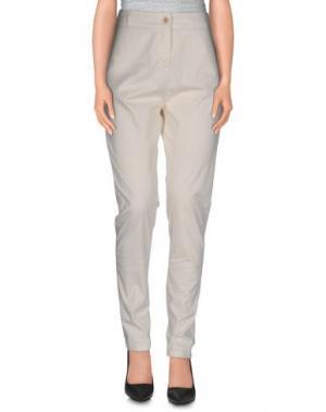 Повседневные брюки GUARDAROBA by ANIYE. Цвет: белый