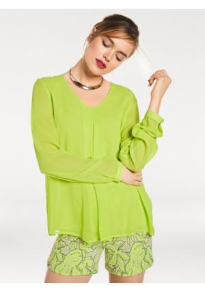 Блузка RICK CARDONA by Heine. Цвет: серый