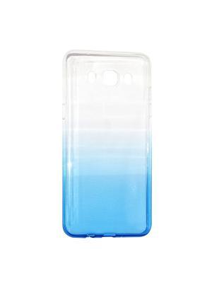 Крышка задняя для Samsung Galaxy J5 (2016) Силикон IQ Format. Цвет: синий