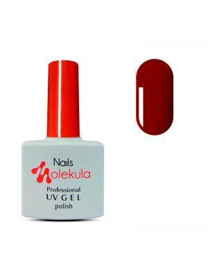 Профессиональный гель-лак. Gel Polish. Тон 74 Nails Molekula. Цвет: темно-красный