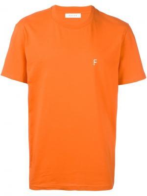 Футболка New 01 Futur. Цвет: жёлтый и оранжевый