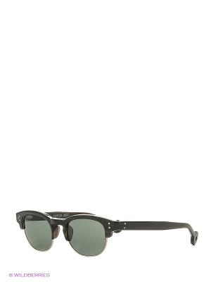 Солнцезащитные очки HS 508 04 HALLY & SON. Цвет: черный