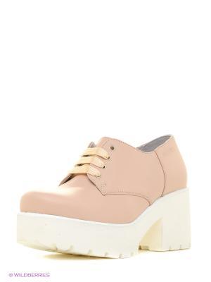 Ботинки Ralf Ringer. Цвет: розовый, белый