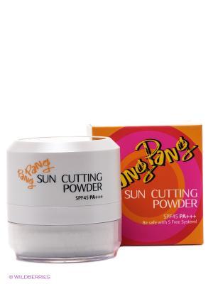 Рассыпчатая пудра для лица с SPF45 Pang Sun, 10 гр Touch in sol. Цвет: белый, прозрачный