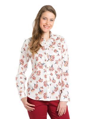 Рубашка U.S. Polo Assn.. Цвет: белый