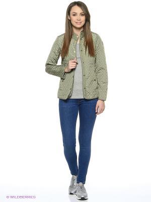 Куртка Luhta. Цвет: зеленый