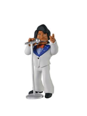 Фигурка The Simpsons 5 Series 1 - James Brown Neca. Цвет: белый