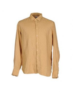 Pубашка BEVILACQUA. Цвет: бежевый