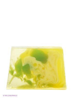 Туалетное мыло Лимонная свежесть, 100гр. Мыловаров. Цвет: желтый