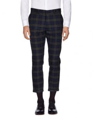 Повседневные брюки MC MASTER OF CEREMONIES. Цвет: темно-синий