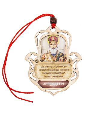 Благословение Водителя Николая Чудотворца Holy Land Collections. Цвет: бежевый
