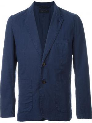Блейзер с застежкой на две пуговицы Paul Smith Jeans. Цвет: синий