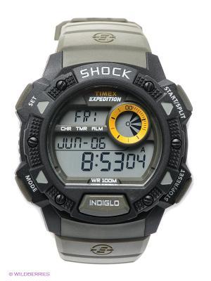 Часы TIMEX. Цвет: хаки