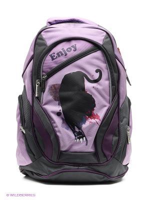 Рюкзак PROFF. Цвет: сиреневый, черный