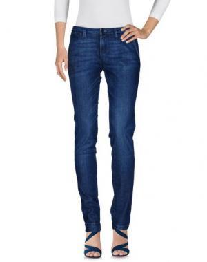 Джинсовые брюки QUIKSILVER. Цвет: синий