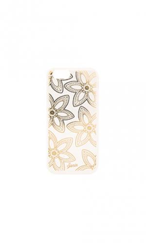Чехол для iphone 6/6s festival floral Sonix. Цвет: металлический золотой