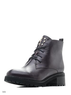 Ботинки BERKONTY. Цвет: фиолетовый
