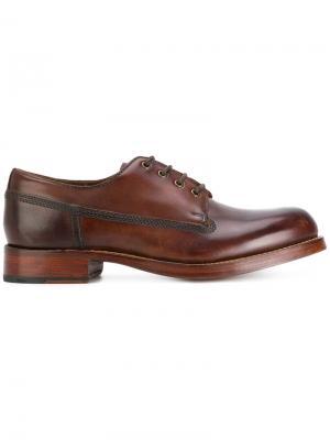 Ботинки Дерби Augustin Grenson. Цвет: коричневый