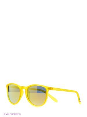 Солнцезащитные очки Polaroid. Цвет: желтый