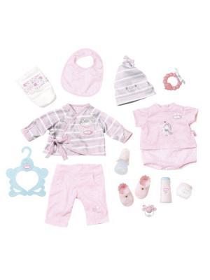 Игрушка Baby Annabell Супернабор с одеждой и аксессуарами, кор. ZAPF. Цвет: розовый