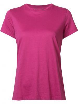 Футболка Compact Vince. Цвет: розовый и фиолетовый