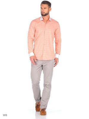 Рубашка Corleone.. Цвет: оранжевый