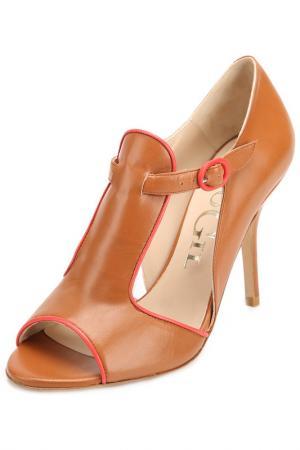 Туфли Paco Gil. Цвет: коричневый