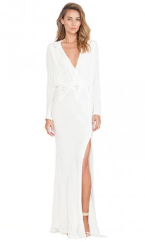 Вечернее платье alabama STONE_COLD_FOX. Цвет: белый