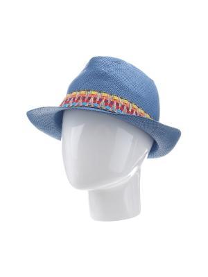 Шляпа Gusachi. Цвет: голубой, желтый, красный