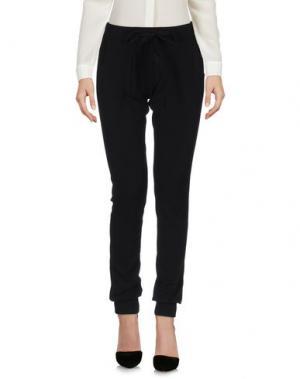 Повседневные брюки DOMINIOUNDICI. Цвет: черный