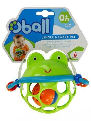 Развивающая игрушка-мяч Лягушонок Oball. Цвет: зеленый