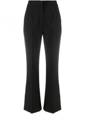 Расклешенные брюки Dolce & Gabbana. Цвет: чёрный