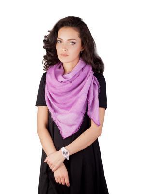Платок Элеганс (фиолетовый) Le Motif Couture. Цвет: фиолетовый