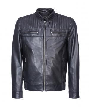Кожаная куртка Urban Fashion For Men