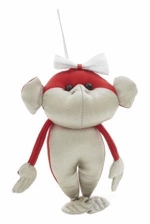 Игрушка «Серебряная обезьяна» Argent-ЗНАК. Цвет: серебряный