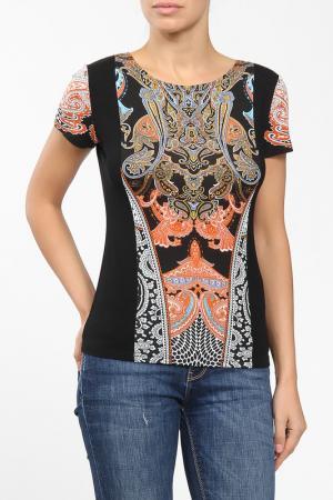 Блузка M&L Collection. Цвет: мультицвет
