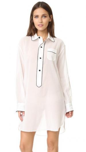 Ночная рубашка Flourless Linnet Morgan Lane. Цвет: мел