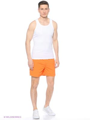 Бордшорты Colin's. Цвет: оранжевый