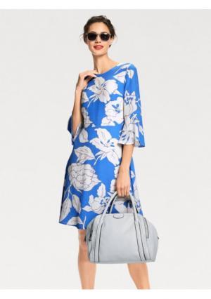 Платье Rick Cardona. Цвет: синий