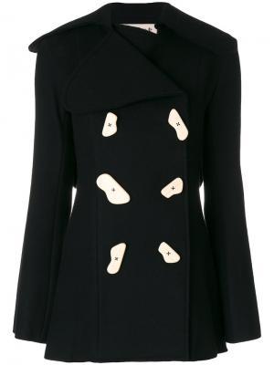Куртка на пуговицах A.W.A.K.E.. Цвет: чёрный