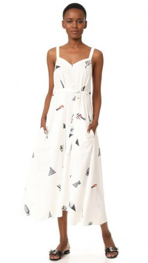 Платье Paradiso VEDA. Цвет: принт в виде предметов
