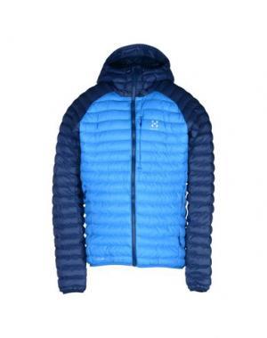 Куртка HAGLÖFS. Цвет: ярко-синий