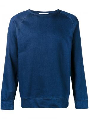 Свободный свитер Études. Цвет: синий