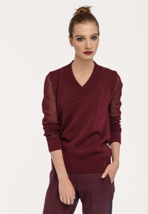 Пуловер Stimage. Цвет: бордовый
